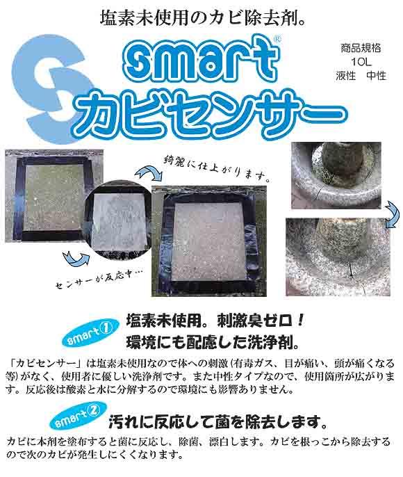 スマート カビクリーナー[1L] - カビ除去剤 01