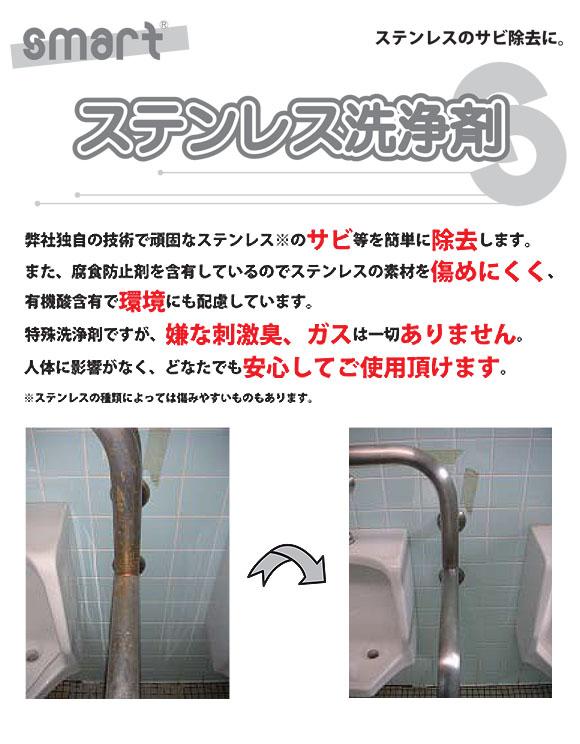 スマート ステンレス洗浄剤 - ステンレスのサビ除去に最適 01