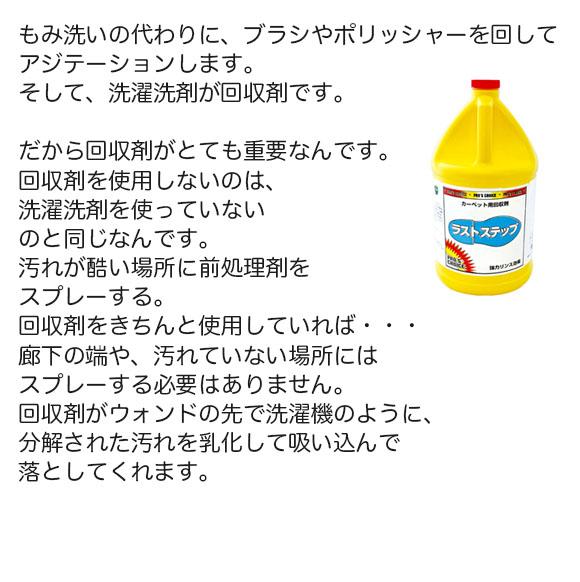 S.M.S.Japan プロマックス[2.6kg] - カーペット洗浄用回収剤 02