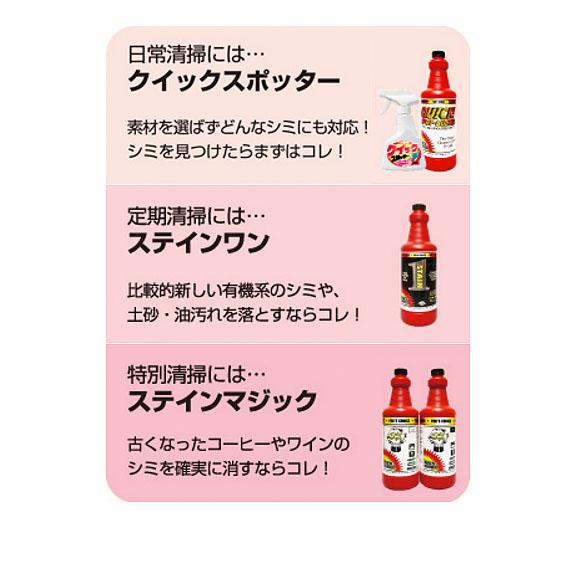 S.M.S.Japan クイックスポッター - カーペット用シミ取りスポッター 05