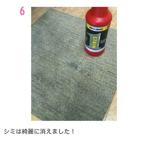 S.M.S.Japan ステイン1(ワン)[960ml] - コーヒー・赤ワイン等のシミ取り剤 07