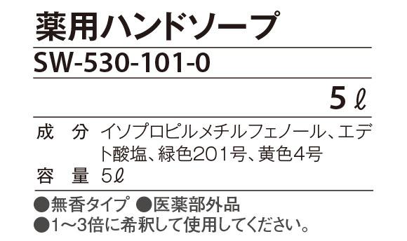 テラモト 薬用ハンドソープ[5L] 02