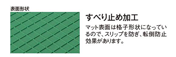 テラモト ジョイント制電マットII  04