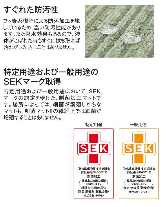 テラモト 制菌マットII 02