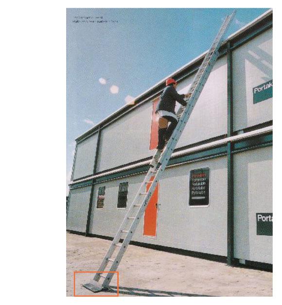 ラダーストッパー - 安全にはしごを使用するためのストッパー【代引不可】 02