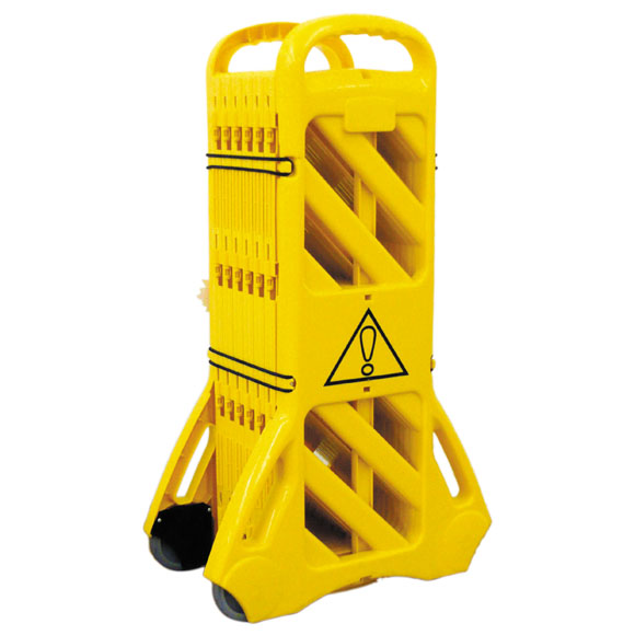 アプソン 安全フェンス キャスター付大型清掃中サイン