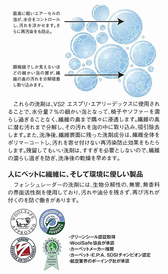 【リース契約可能】フォンシュレーダージャパン VS2エスプリ - 全自動ソファー洗浄機【代引不可】 08