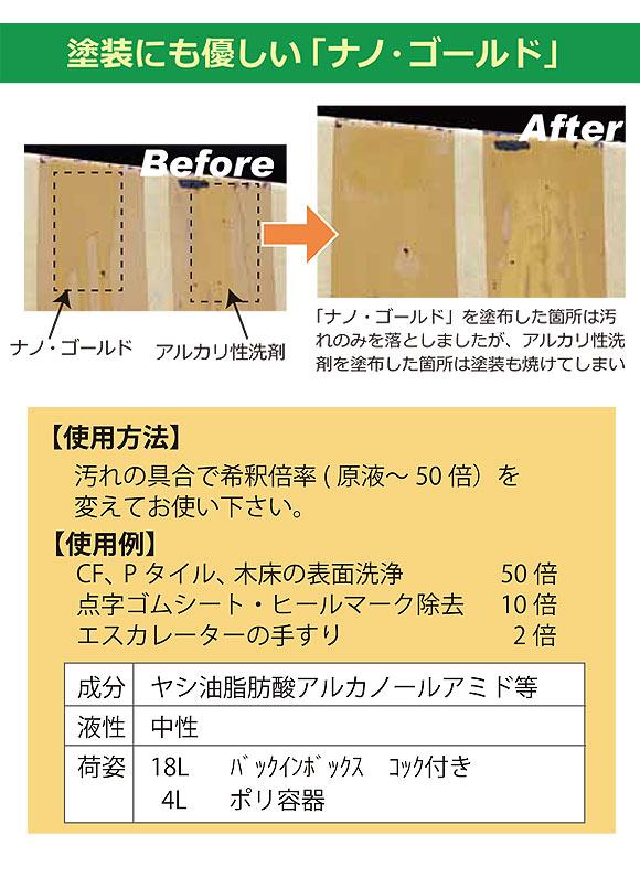 フォンシュレーダージャパン ナノ・ゴールド - 多目的洗浄剤 06