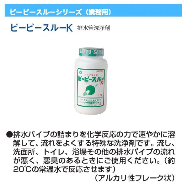 和協産業 ピーピースルー - 排水パイプ用フレーク状洗浄剤01