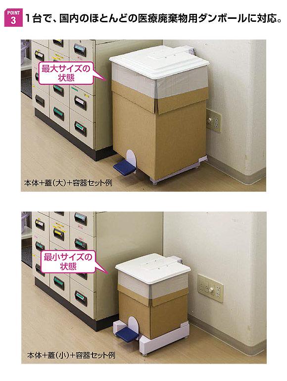 山崎産業 医療廃棄物容器ホルダー SK-F 本体 03