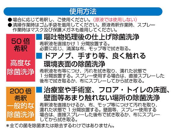 山崎産業  除菌洗浄液 [4L×4] - HP ワンミニッツ バスターシリーズ 03