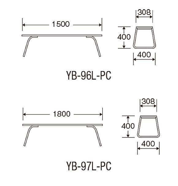 山崎産業 樹脂ベンチ背なしECO - 再生樹脂を利用したリサイクル仕様のベンチ02