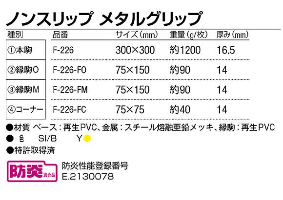 山崎産業 ノンスリップ メタルグリップ - 圧倒的な耐油性と耐久性のすべり止めマット 05