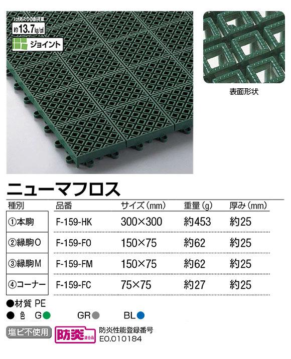 山崎産業 ニューマフロス - 耐久性・耐荷重性に優れたタフな水切りマット 02