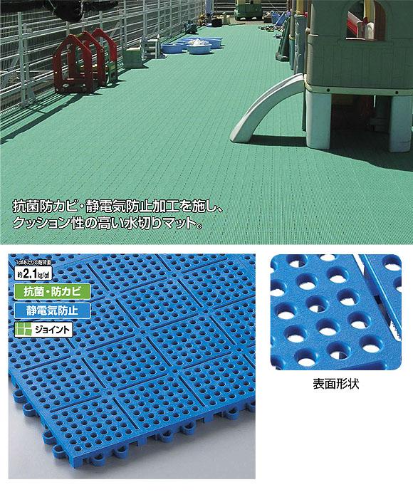 山崎産業 ロイヤルソフト - クッション性の高い水切りマット 01