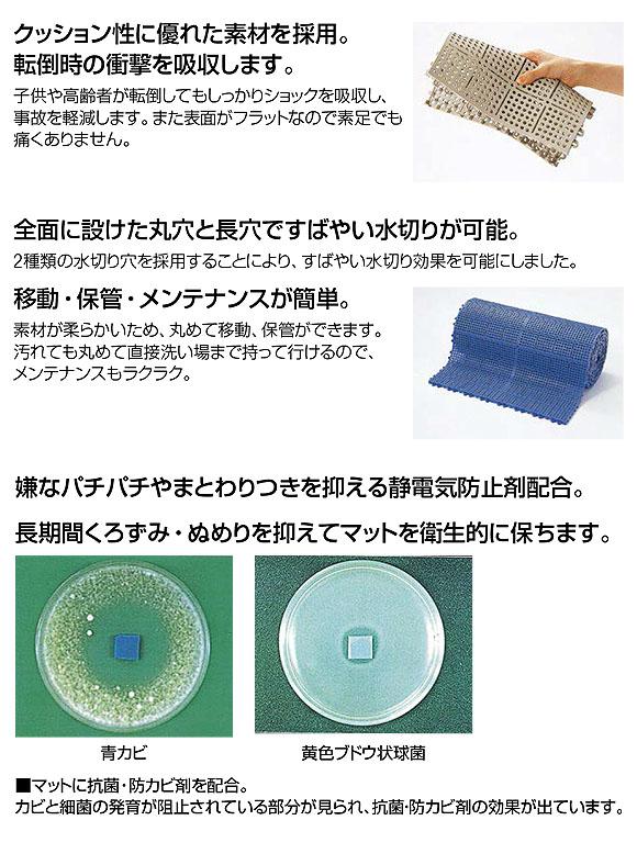 山崎産業 ロイヤルソフト - クッション性の高い水切りマット 02