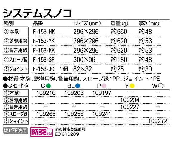 山崎産業 システムスノコ - 誘導表示やスロープが組み込めるバリアフリー対応スノコ 04