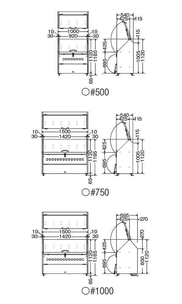 ■受注生産品■山崎産業 トラッシュステーションS - 落ち着いたデザインのダストパーキング【代引不可】05