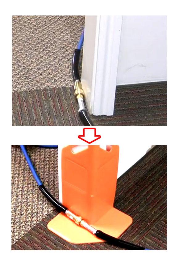レボテック コーナーガード - ホース延長時のコーナーの壁面、角面の保護 商品詳細01