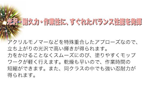 ユーホーニイタカ アプローズ・ゼロ[18L] 04