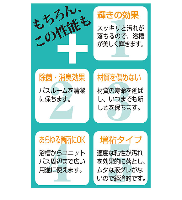 ユーホーニイタカ エコ&パワーバスクリーナー酸性[18L/1Lx12] 04