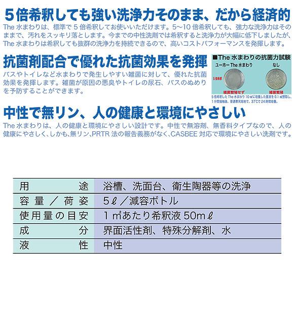 ユーホーニイタカ エコ&パワーThe水まわり[5L x2] 03