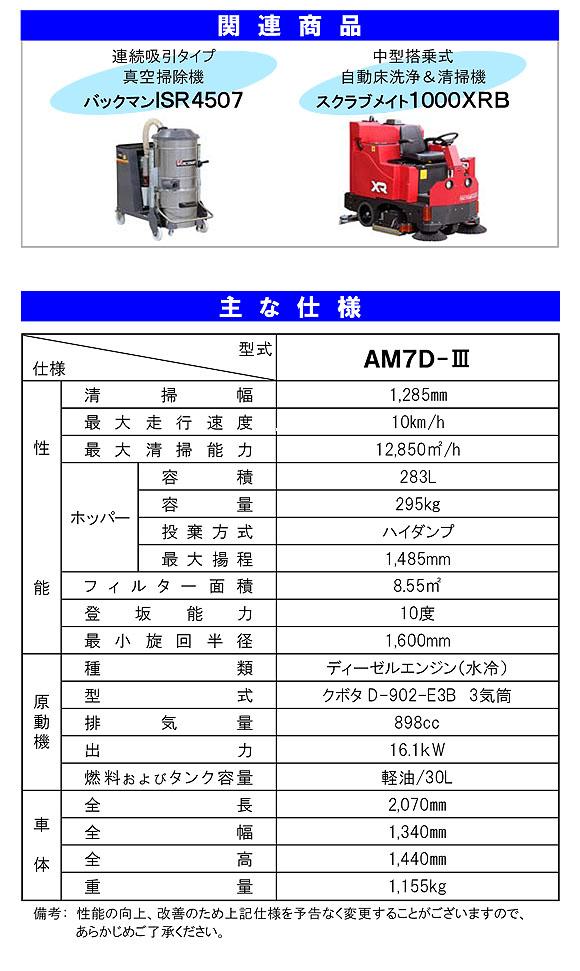 【リース契約可能】蔵王産業 アルマジロ AM7D-III【代引不可】04