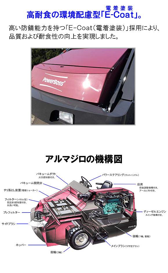 【リース契約可能】蔵王産業 アルマジロ AM9D-III【代引不可】05