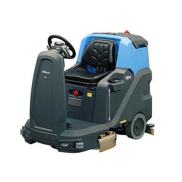 【リース契約可能】蔵王産業 スクラブメイトMMg730 Plus - バッテリー駆動 搭乗式 自動床洗浄機