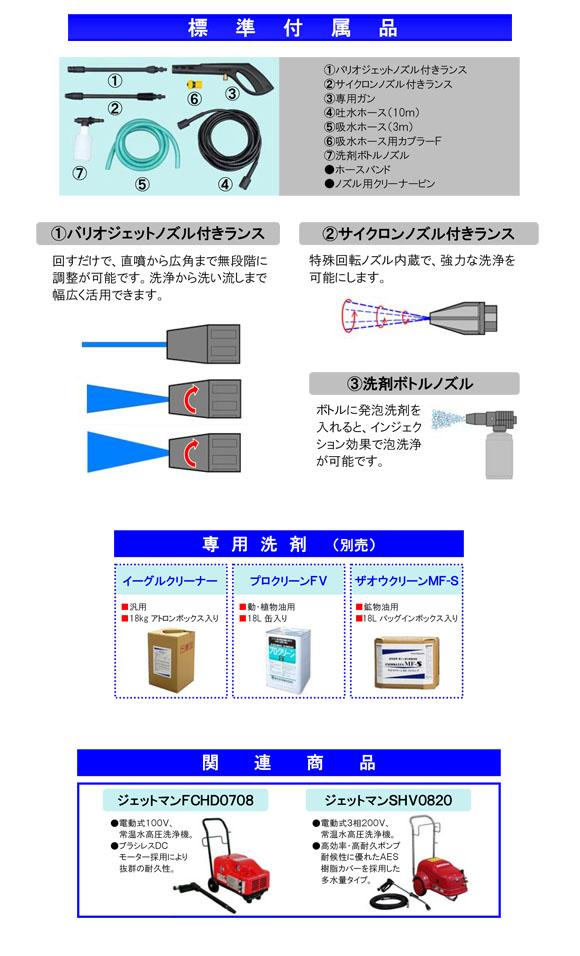 蔵王産業 ジェットマン EC89 - 小型軽量高圧洗浄機03