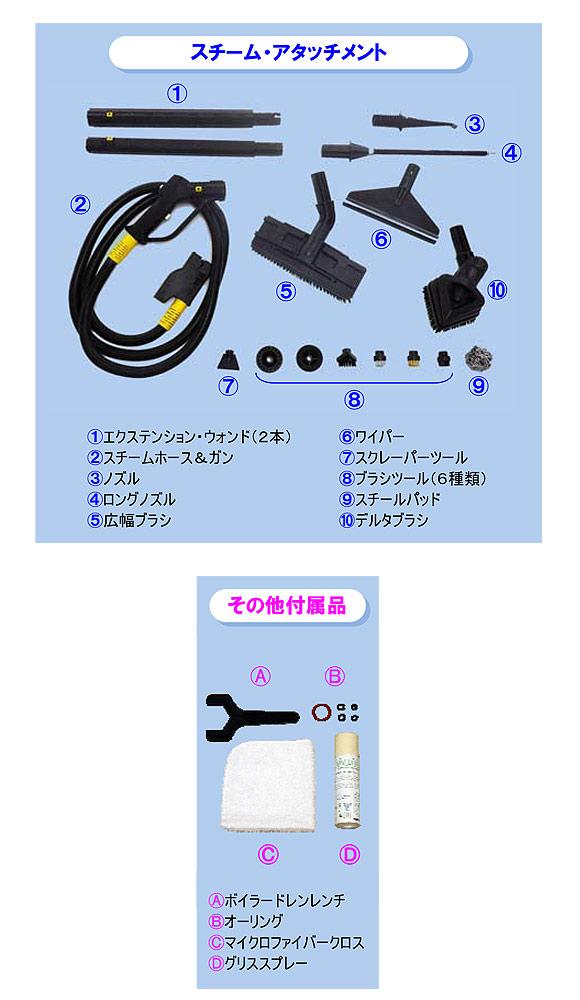【リース契約可能】蔵王産業 スーパースチームバックIII【代引不可】06