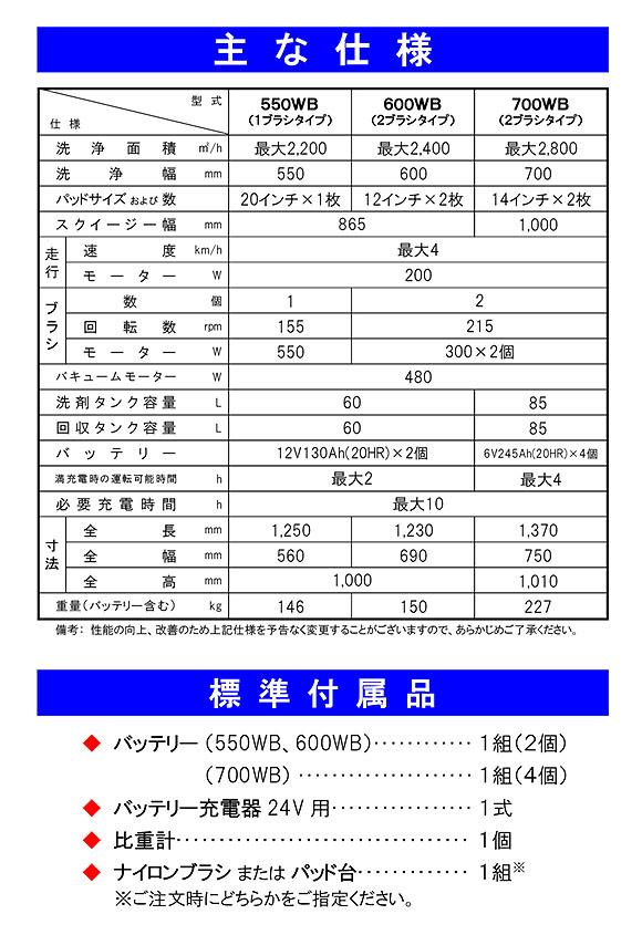 【リース契約可能】蔵王産業 スクラブメイト600WB 04