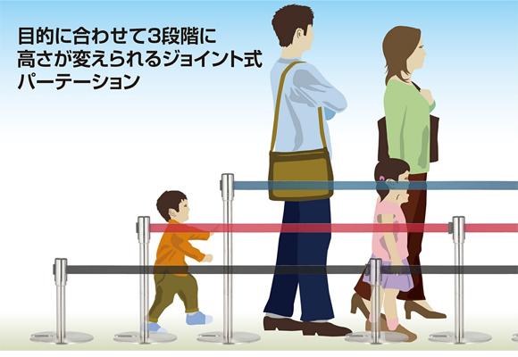 テラモト ジョイントパーテーションD商品詳細01