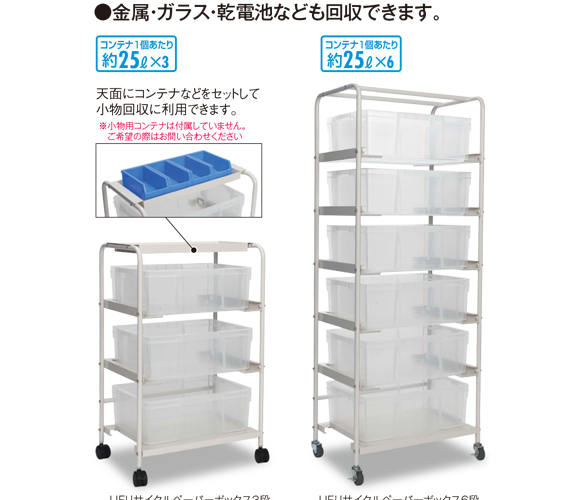 山崎産業 エコボックス - 左右の取っ手で持ち運びもラクなボックス 02