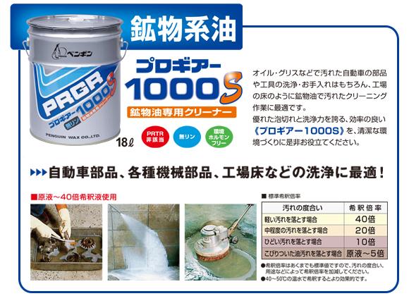 ペンギン プロギアー1000S[18L] - 鉱物油専用強力アルカリ洗剤商品詳細04