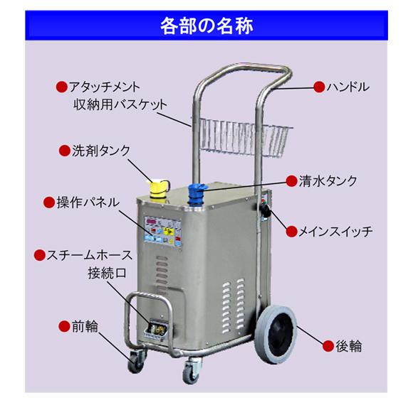 スチーム洗浄機 スチームボックスミニ【代引不可】商品詳細03
