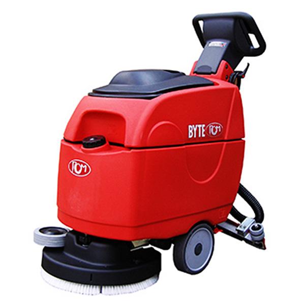 【リース契約可能】日本クランツレ BYTE I(バイトワン) - 業務用 バッテリータイプ 手押し式自動床洗浄機