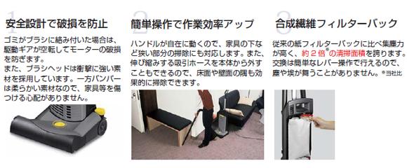 ケルヒャーCV30/1商品詳細04
