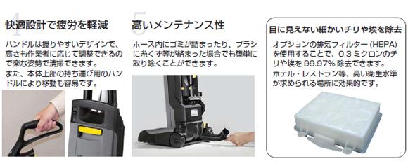 ケルヒャーCV30/1商品詳細05