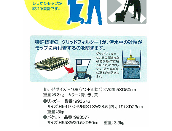 SYR バケット&リンガーセット NU3商品詳細04