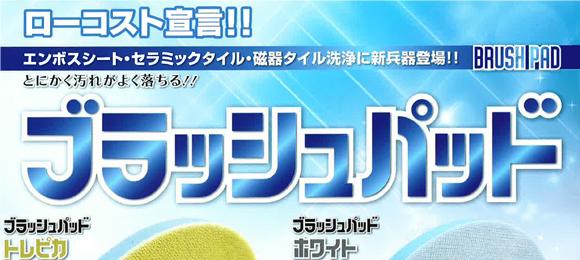 ブラッシュパッド トレピカ[ハンド用/5枚入]商品詳細01