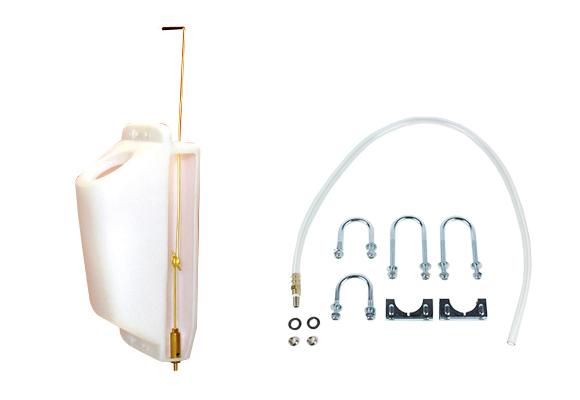 スリムタイプ独立型シンプル機構ポリッシャー用洗剤タンク(丸穴)01