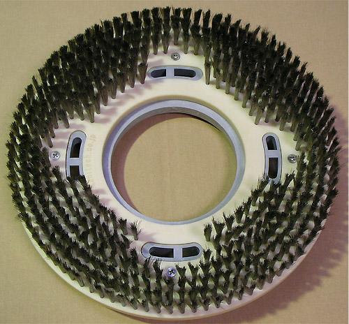 エコステンレスブラシ-細かい凹凸に最適なポリッシャー用極細ステンレスブラシ