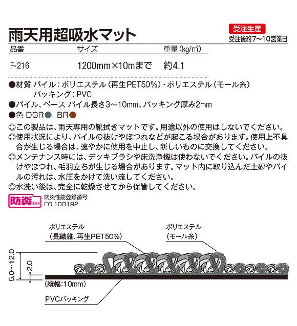 山崎産業 雨天用超吸水マット【代引不可】