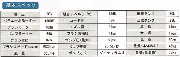 【リース契約可能】ニルフィスク・アドバンス AX410【代引不可】02