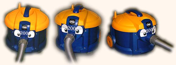 バックマンS2002に目玉ステッカーを貼った写真