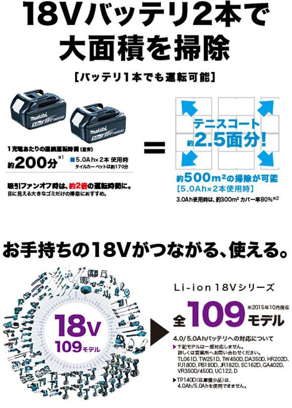 マキタ RC200DZ ロボプロ - ロボットクリーナ02