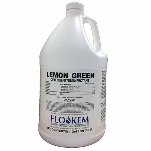 コスケム レモングリーンDD[3.78Lx4] - 多目的洗剤/病院用除菌消臭洗剤