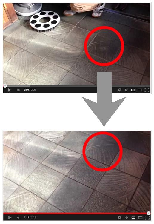 クオリティ Q-PLATINUM・α(キュープラチナム・アルファ/ベルクロ仕様) - パッド台に取り付けできる!エンボス汚れに最適なポリッシャー用極細ステンレスブラシ