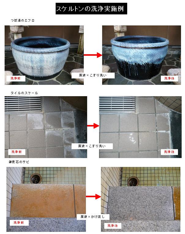 クリアライト工業 スケルトン[20kg/4kg] - 循環配管・床面・排水管用スケール除去剤 04
